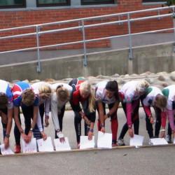 Start ungdom Sport8sprintstafett 2012