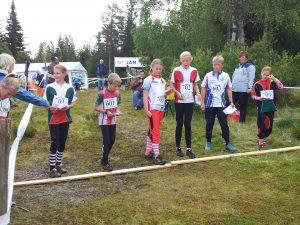Førsteetappa KM stafett 11-12 på Hajern 2013