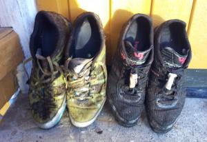Gjenglemte sko etter Tøffen 2013