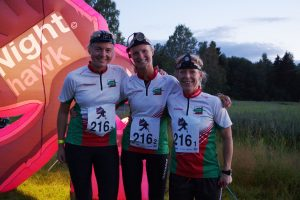 På nattetappene løp Ingrid Undstad, Runa Fremstad og Julie Hjortland. Foto: Jørgen Frøyd