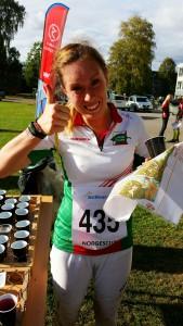 Blid Martine etter bra løp i Norgescup-avslutningen.