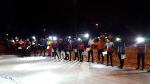 Mange på start til årets første Vinter-Jukola