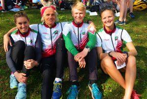 Runa, Tobias, Lars og Martine deltok på laget vårt.
