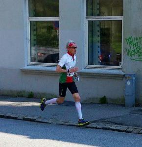 Lars Fremstad sprinter