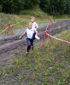 Her kommer Henrik like bak Sandefjord inn til 1. veksling i H11-12.