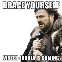 Vinter-Jukola is coming
