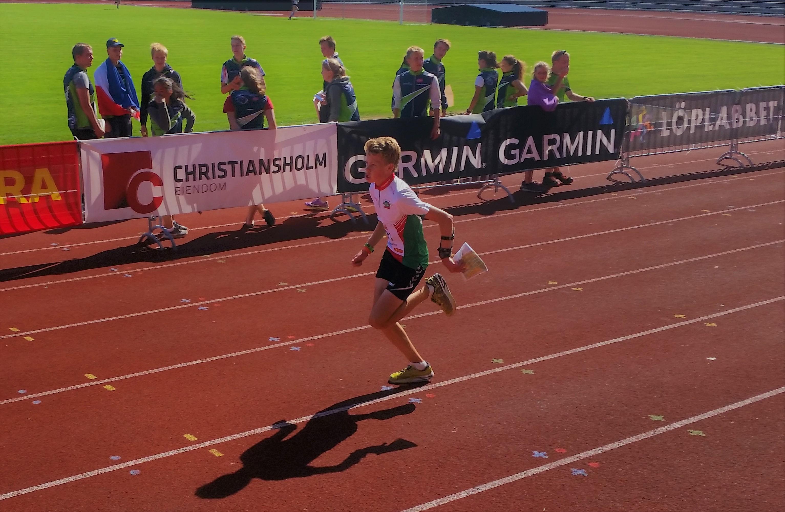 Henrik med 17.plass på Hovedløpet sprint søndag