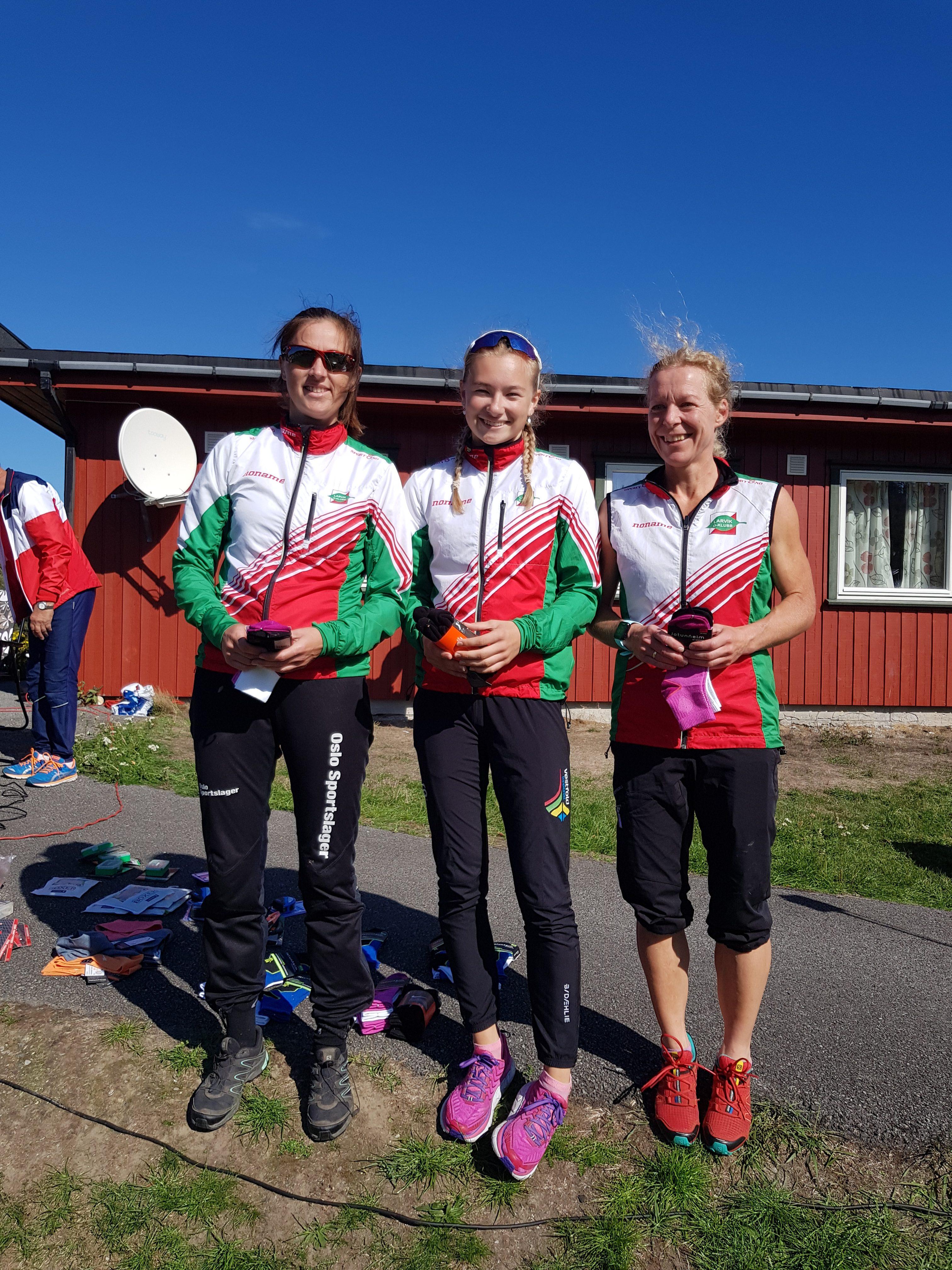 Klubben vant 3 klasser under søndagens KM-stafett
