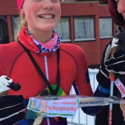 5 plass til Ida Sofie i Norges cup skiorientering