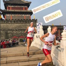 Runa nr. 26 i World cup- sprint i Kina